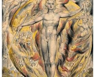 Солнце в Восточных Вратах — Уильям Блейк