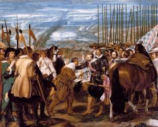 The Surrender of Breda — Диего Веласкес