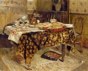 The Table Setting — Эдуар Вюйар