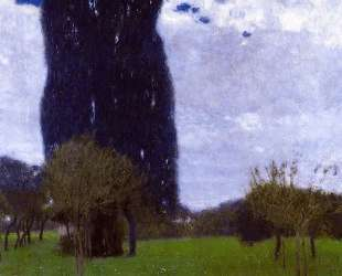 The Tall Poplar Trees II — Густав Климт