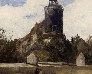 The Telegraph Tower at Montmartre — Камиль Писсарро