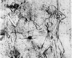 Змей искушает Еву — Иероним Босх