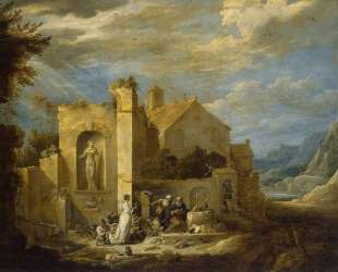 The Temptation of St. Anthony — Давид Тенирс Младший