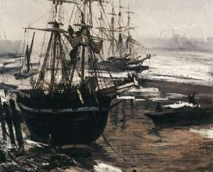 The Thames in Ice — Джеймс Эббот Макнил Уистлер