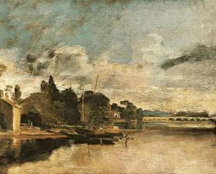 The Thames near Walton Bridges — Уильям Тёрнер