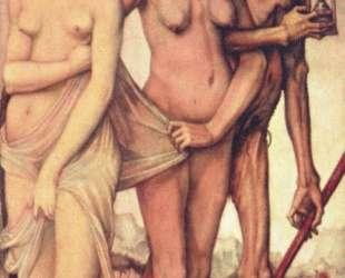 Три возраста человека и смерть — Ханс Бальдунг