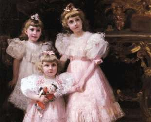 The Three Errazuriz Sisters — Хоакин Соролья