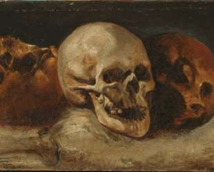 The three skulls — Теодор Жерико