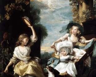 Три младшиедочери Георга III — Джон Синглтон Копли