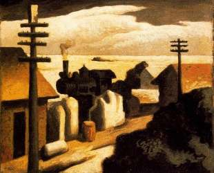 The Train Station — Томас Гарт Бентон