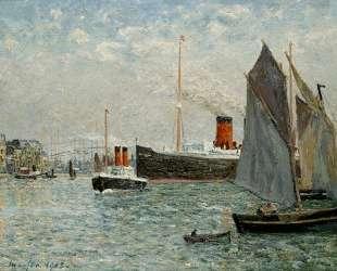 The Transatlantic leaving Port — Максим Мофра