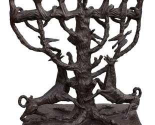 The Tree of Life — Menorah — Осип Цадкин