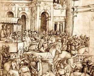 The Triumph and Vespasian de Titus — Андреа Мантенья