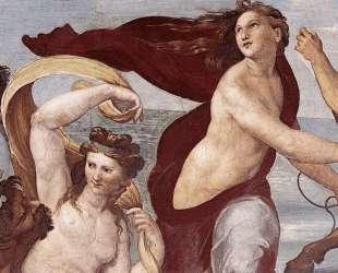 The Triumph of Galatea (detail) — Рафаэль Санти