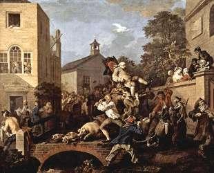 The triumph of Representatives — Уильям Хогарт