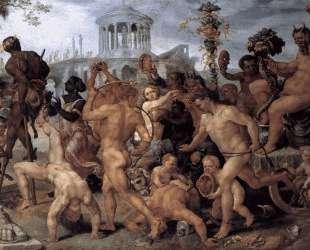The Triumphal Procession of Bacchus — Мартен ван Хемскерк
