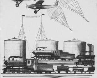 Оборот обложки журнала «Даешь». (1929. № 6) — Александр Дейнека
