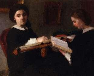 The Two Sisters — Анри Фантен-Латур