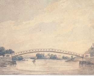 The Upper Bridge over the Schuylkill — Павел Свиньин