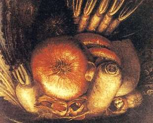 Ваза с овощами — Джузеппе Арчимбольдо