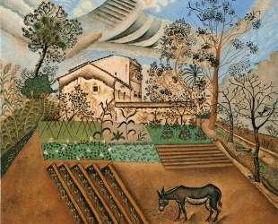The Vegetable Garden with Donkey — Жоан Миро