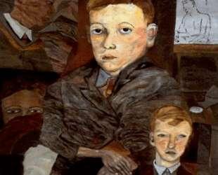 Деревенские мальчики — Люсьен Фрейд