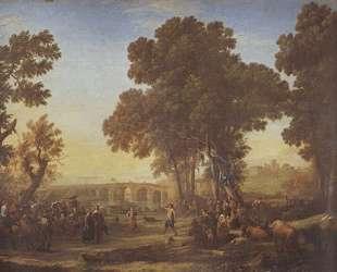 The Village Festival — Клод Лоррен