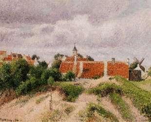 The Village of Knocke, Belgium — Камиль Писсарро