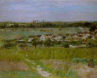 The village of Maurecourt — Берта Моризо