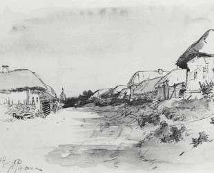 Деревня Мохначи — Илья Репин