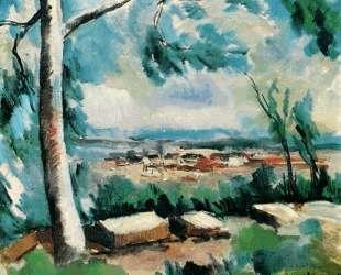 The Village — Морис де Вламинк