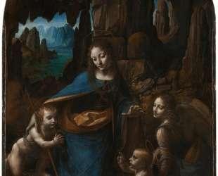 The Virgin of the Rocks — Леонардо да Винчи