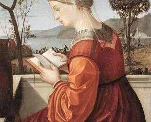 The Virgin Reading — Витторе Карпаччо