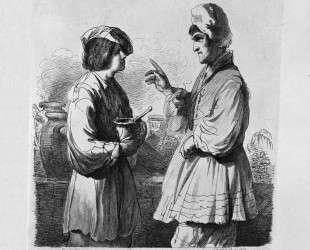 The Virgin with Child standing, half-length — Джованни Баттиста Пиранези