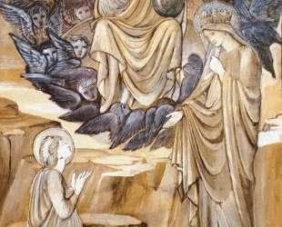 Видение Святой Катерины — Эдвард Бёрн-Джонс