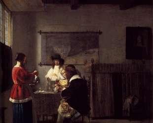 The Visit — Питер де Хох