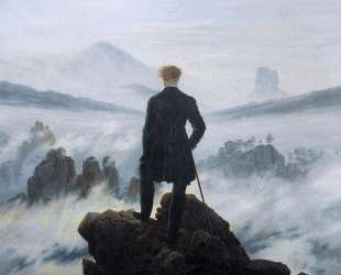 The wanderer above the sea of fog — Каспар Давид Фридрих