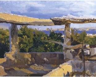 The waterwheel, Javea — Хоакин Соролья
