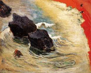 Волна — Поль Гоген