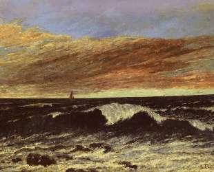 Волна — Гюстав Курбе