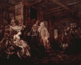 The Wedding Banquet — Уильям Хогарт