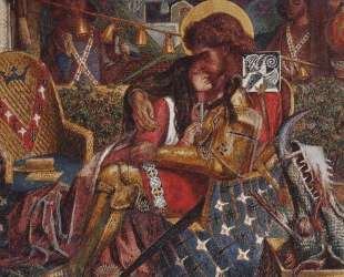 The wedding of Saint George and Princess Sabra — Данте Габриэль Россетти