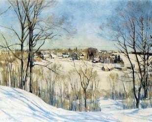 The Winter Day — Константин Юон