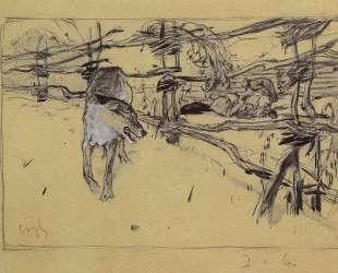 Волк и пастухи — Валентин Серов