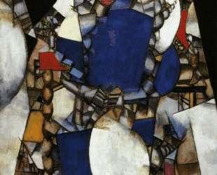 The Woman in Blue — Фернан Леже