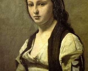 Женщина с жемчужиной — Камиль Коро