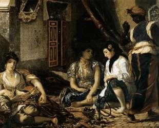 Алжирские женщины в своих комнатах — Эжен Делакруа