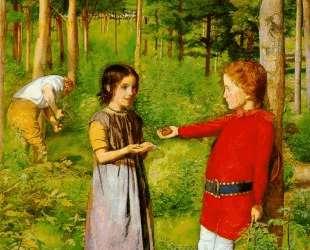 The Woodman's Daughter — Джон Эверетт Милле