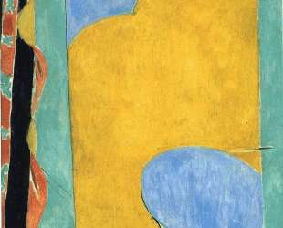 The Yellow Curtain — Анри Матисс