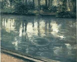 The Yerres, Rain — Гюстав Кайботт